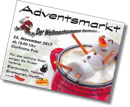 adventsmarkt flyer 2017